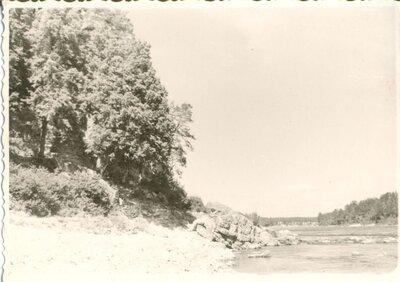 Lokstiņas upes ieteka Daugavā