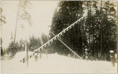 Latvijas - Igaunijas robeža. Piri muitas punkts