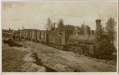 Liepājas - Glūdas dzelzceļa līnijas būve