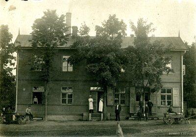 Koka ēka. Mazsalaca