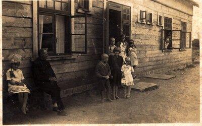 Ķekavas pagasts. Kalpu māja Rudzāju saimniecībā