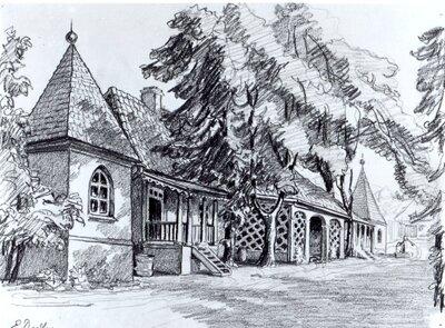 Šarlotes muižas dzīvojamā ēka