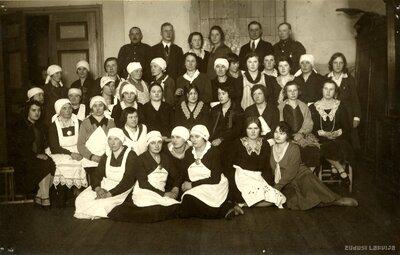 Mājturības kursu dalībnieces Mazsalacā