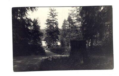 Diānas postaments Alūksnes pils parkā