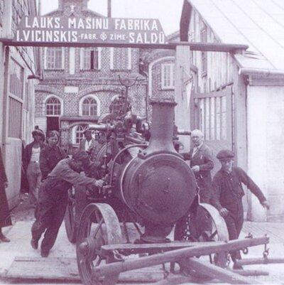 Jāņa Vicinska lauksaimniecības mašīnu fabrika ar čuguna un metāla lietuvi
