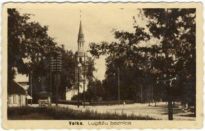 Lugažu luterāņu baznīca