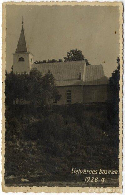 Lielvārdes luterāņu baznīca