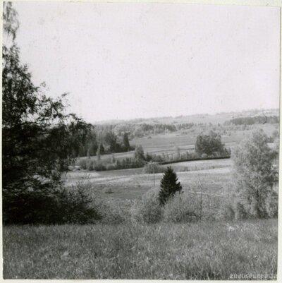 Skats no Jurģu kalna