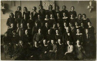 Cēsu pilsētas ģimnāzijas meiteņu klases