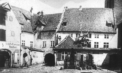Herdera piemineklis un tā apkārtne pirms 1868. gada