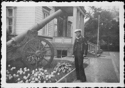 Vācu matrozis pie Strēlnieku dārza
