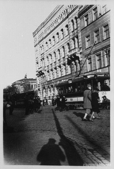 Rīga. Krišjāņa Valdemāra ielas un Zigfrīda Meierovica bulvāra krustojums