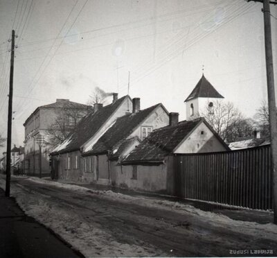 Bauska. Rīgas iela