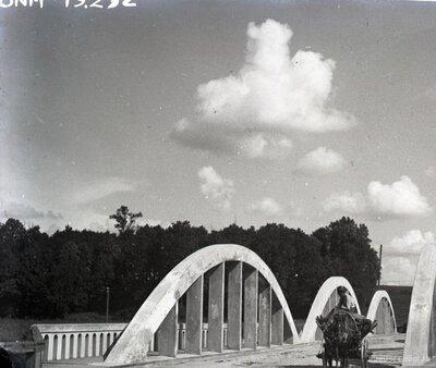 Bauska. Jaunais tilts pār Mēmeli