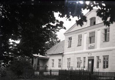 Iecava. Latvijas Sarkanā Krusta veselības kopšanas punkta ēka