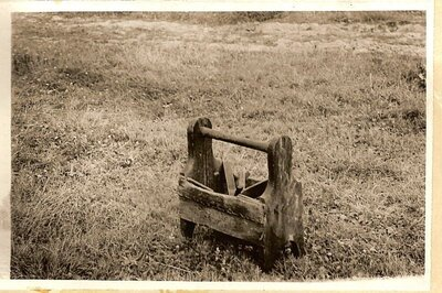 Zasas pagasts. Zirgu apkalšanas rīku kaste