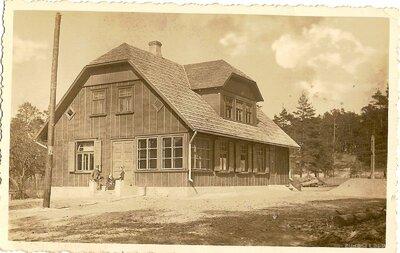 Dundagas pagasts. Slīteres mežniecības ēka