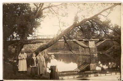 Mazsalaca. Tilts pār Salacu