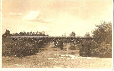 Vireši. Tilts pār Gauju