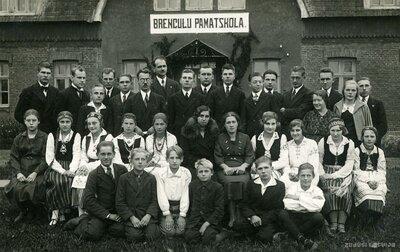 Brenguļu pamatskola. Skolēnu grupa