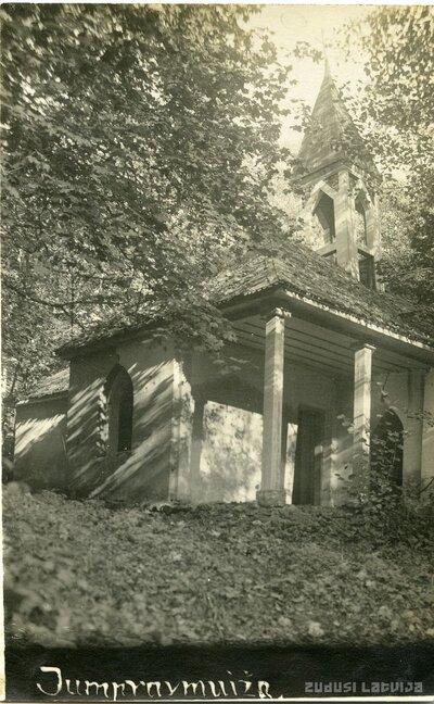 Jumpravmuižas kapella