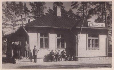 Ventspils. Mazbānīša stacija - Staldzene