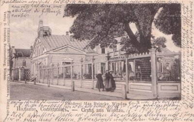 Ventspils. Makša Reinkes nams