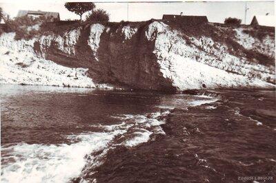 Pļaviņas. Lorelejas klints