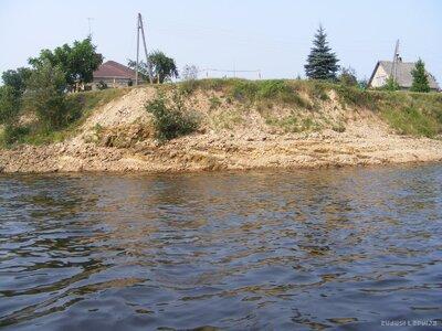 Daugava. Appludinātā Lorelejas klints