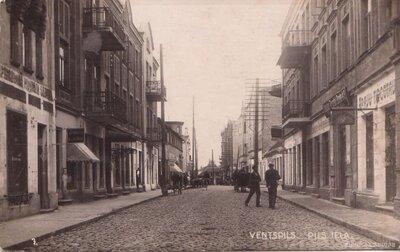 Ventspils. Pils iela