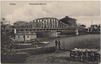 Liepāja. Dzelzceļa tilts