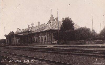 Ventspils. Dzelzceļa pasažieru stacija