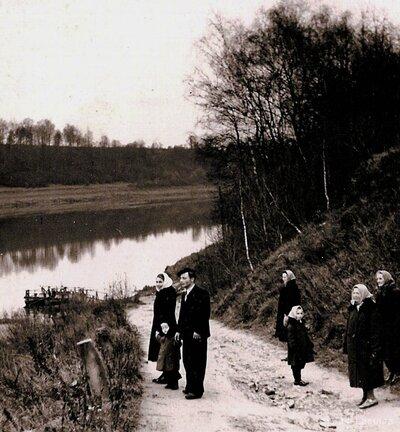 Daugavas kreisais krasts pie Kokneses Pārceltuves
