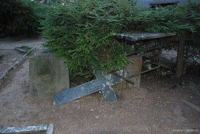 Pļaviņas. Bārukalna kapi