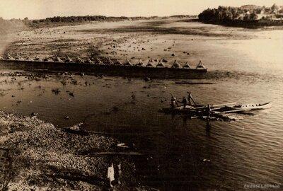 Zvejnieku tači Daugavā