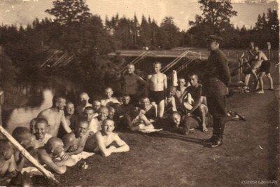 Latvijas armijas Litenes nometnes karavīru peldētava
