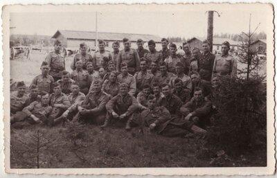 Latvijas armijas Litenes nometne. Karavīri