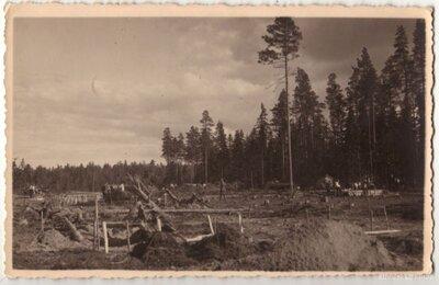 Latvijas armijas vasaras nometnes izbūve Litenē