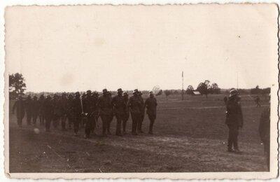 Latvijas armijas nometne Litenē. Pulka svētki