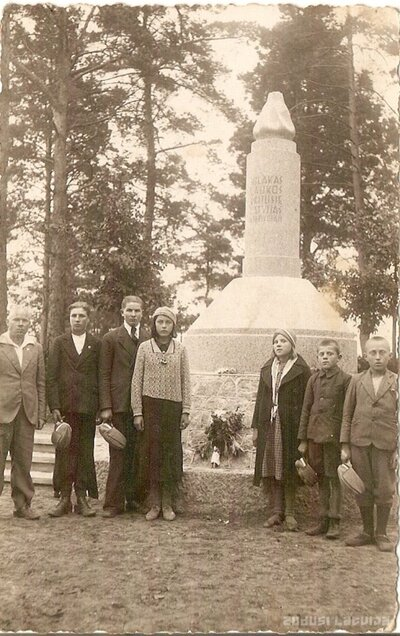 Viļakas brāļu kapu piemineklis Viļakas novada Jaškovas kapos