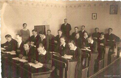 Viļakas Valsts ģimnāzijas abiturijas klase