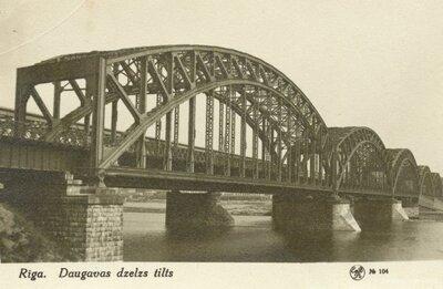 Rīga. Dzelzceļa tilts