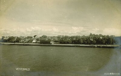 Ventspils. Pilsētas daļa Ventas kreisajā krastā