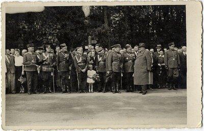 Latvijas Valsts prezidents Kārlis Ulmanis Gulbenes atbrīvošanas atceres svētkos