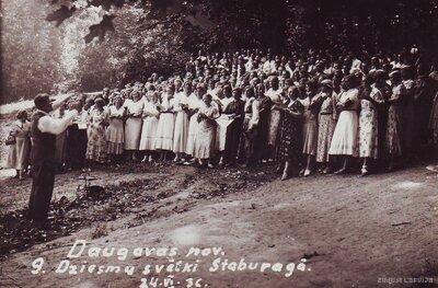 Vīgante. Daugavas novada 9. Dziesmu svētki