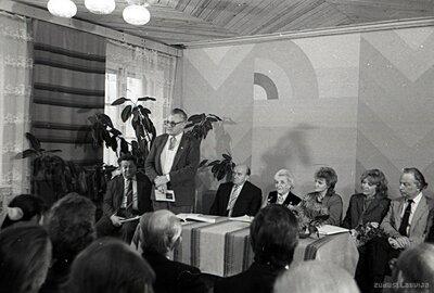 Atjaunotās Mūrmuižas Tautas universitātes pirmā nodarbība