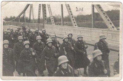 Liepājas 1. Kājnieku pulka kareivji