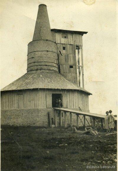 Kaļķu apdedzināšanas ceplis Kalnciema Plostmuižā