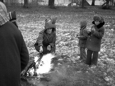 Bērnu jaungada eglīte Kauguros 1980.g. 28. decembrī