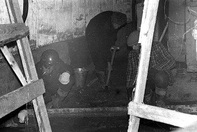 Bērnu klīniskās slimnīcas Gaiļezers būve 1980.gada novembrī